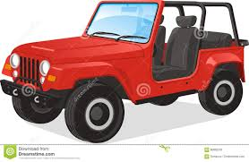 cartoon jeep drawings jeep illustration stock illustration image 86682207