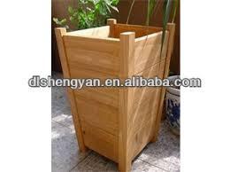 elegant outdoor decorative wooden planter wood garden planter box