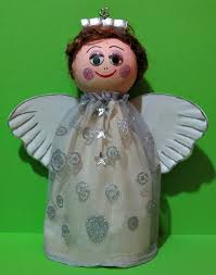 christmas angel recycled plastic bottle christmas angel favecrafts