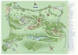estate map gower cottages penrice castle