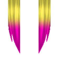 is there pink hair in roblox xx blonde and pink hair roblox
