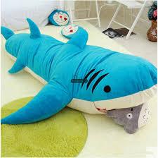 Shark Bean Bag Dorimytrader Animal Shark Beanbag Plush Soft Sharks