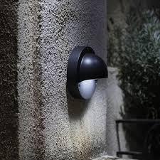 12v outdoor wall lights techmar deimos black 12v led wall lighting now switchable led colour