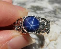 rings star sapphire images Star sapphire ring etsy jpg