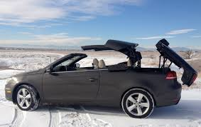 convertible volkswagen 2016 review 2012 vw eos lux greek goddess meets a snow storm