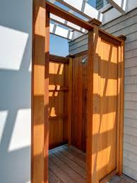 Outdoor Shower Room - good clean fun how to build an outdoor shower