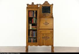 secretary bookcase ebay