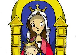 imagenes de virgen maria infantiles blog del profesorado de religión católica la virgen maría en el