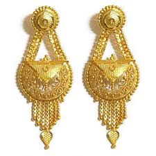 gold earing women gold earring at rs 5000 pair gold earrings id 14245030748