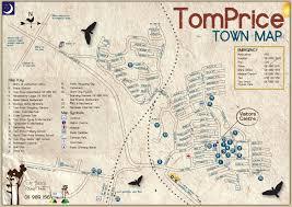 Map Price Home Tom Price Tourist Park Tom Price Western Australia