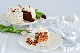 grain free carrot cake with dairy free u201ccream cheese u201d icing grain