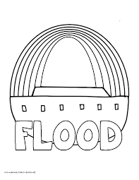flood coloring pages my homeschool printables history coloring pages u2013 volume 1