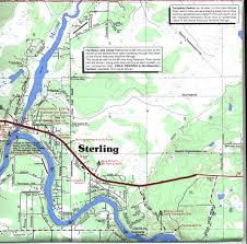 Alaska Rivers Map by Map Of Sterling Alaska