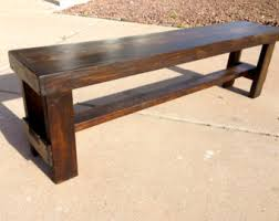 Outdoor Benche - wooden bench etsy