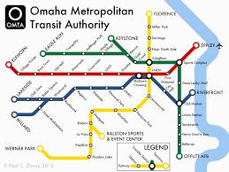 Maps Omaha Drawn Railroad Subway Pencil And In Color Drawn Railroad Subway