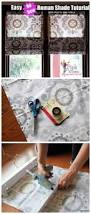 How To Make Roman Shades For French Doors - diy no sew faux roman shade our fifth house faux roman shades