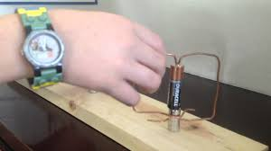 jacob u0027s 4th grade science project homopolar motor youtube