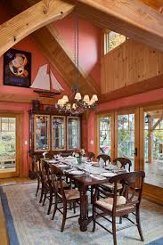 Timber Frame Home Interiors Custom Douglas Fir Timber Frame Home U2013 Finger Lakes Ny Woodhouse
