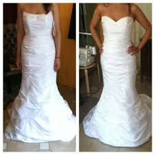 chagne wedding dress portfolio the williamsburg seamster