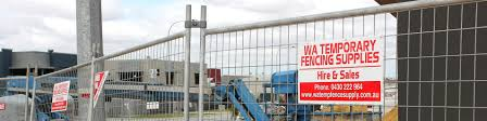 wa temporary fencing supplies insurance construction housing