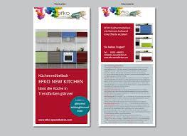 flyer designen lassen flyer design für küchenmöbellack flyer design designonclick