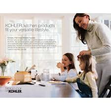 Kohler Vinnata Kitchen Faucet by Kohler Faucet K 691 Bn Vinnata Vibrant Brushed Nickel Pullout