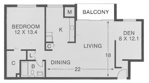 One Bedroom Floor Plan Pleasant House Seat Pleasant Md Welcome Home