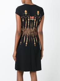 etro outlet store milan etro embroidered flared dress 1 women