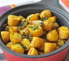 cuisiner les pommes de terre pommes de terre rôties à l indienne recettes de cuisine avec
