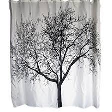 Amazon Com Shower Curtains - majestic design ideas tree shower curtain fine decoration palm