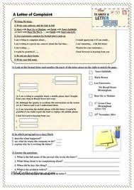 how to write an informal letter esl worksheets of the day