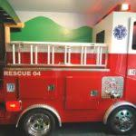 Fire Truck Bunk Bed Fire Truck Bed Toddler Firetruck Bed For Your Little Hero