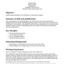 Construction Project Manager Resume Objective Construction Labor Cover Letter Example Sample Construction