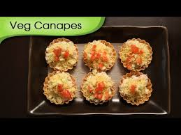 simple vegetarian canapes veg canapes vegetarian bite snack recipe ruchi s kitchen