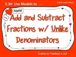 the 25 best add fractions with unlike denominators ideas on
