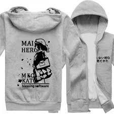megumi kato hoodie saekano how to raise a boring girlfriend