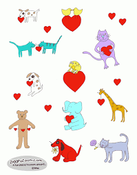 printable stickers valentines valentine stickers to print ziggity zoom