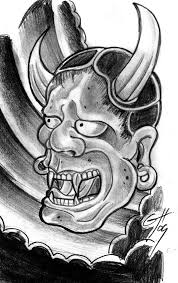 devil mask tattoo sketch in 2017 real photo pictures images and
