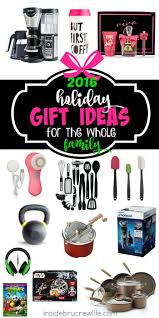 gift ideas for the whole family inside brucrew