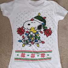 snoopy christmas t shirt best snoopy christmas t shirt for sale in dekalb county illinois