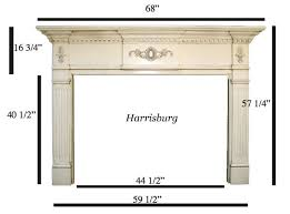 Standard Fireplace Dimensions by 289 Best Fireplace Images On Pinterest Fireplace Ideas