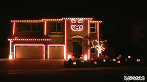 2 story christmas lights halloween light show a house with led lights synchronized to music