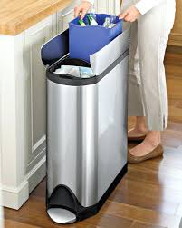 simplehuman in cabinet trash can simplehuman in cabinet trash can 10 liter 26 gallon dua butterfy
