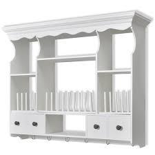 Kitchen Wall Cabinets Uk White Wooden Kitchen Wall Cabinet Vidaxl Com