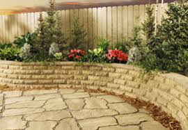 Interlocking Patio Pavers Lowes Garden Stones Lowes Interior Design