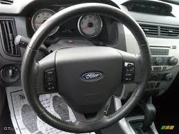 Focus 2008 2008 Ford Focus Se Sedan Charcoal Black Steering Wheel Photo