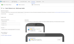 ad tracking android inside adwords search ads on play and new app promo tools