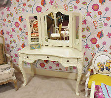 Vintage Style Vanity Table Antique French Dressing Table Ebay