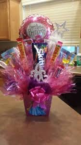 balloon and candy bouquets princess birthday candy bouquet for girl candy bouquets