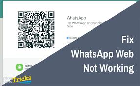 Whatsapp Web 4 Ways To Fix Whatsapp Web Not Working Problem Most Useful Tricks
